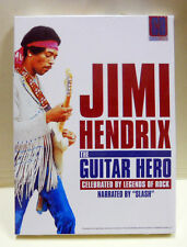 "JIMI HENDRIX The Guitar Hero CELEBRATED BY LEGENDS OF ROCK Narrated by ""Slash"""