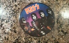"KISS A WORLD WITHOUT HEROES 1981 UK PICTURE DISC 7"" RECORD"
