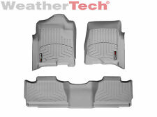WeatherTech® DigitalFit FloorLiner - 2007-2013 - Chevrolet Avalanche - Grey