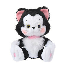 Kiss Me! Cat Figaro Plush Doll 7.9 inch ❤ Disney Store Japan Pinocchio