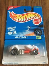 NEW 1995 Hot Wheels White *GRIZZLOR* #484 ~ Fast Shipping!