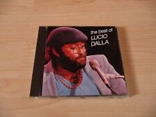 CD Lucio Dalla-the Best of Lucio Dalla - 12 chansons - 1983