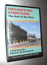 Chicago's PCC Streetcars - The Rest of the Story PDF E-Book on DVD Data Disc