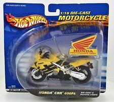 HOT WHEELS HONDA CBR 600F4 1:18 DIE-CAST MOTORCYCLE