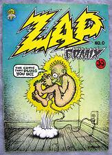 ZAP Comix #0 2nd Print (Confirmed) 35¢ Cover 1968 R. Crumb APEX Novelty Comics