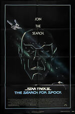 """1984 Star Trek III: The Search For Spock 1-Sheet (27""""x41"""") Original Movie Poster"""
