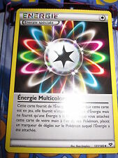 POKEMON MINT ENERGIE MULTICOLORE 131/146 FRENCH DEFAULT BOOSTER PRESS ON CARD !