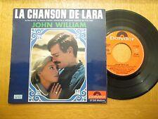 """John William – La Chanson De Lara - French 7"""" EP  OST Doctor Zhivago"""