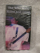 Guided By Voices - The Who Went Home and Cried (VHS) NEW rare rock video