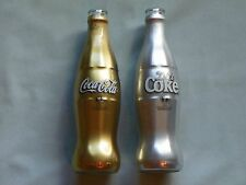 Coca Cola Diet Coke 2006 FIFA World Cup Germany Gold Silver Empty Bottles (2)