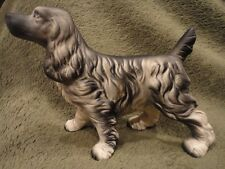 Dog Figurine English Cocker Spaniel 3-3/4 in Tall Vintage