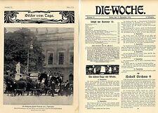 Rudolf Virchow Nachruf bedeutender wiss.Autoritäten Historical Memorabilia 1902