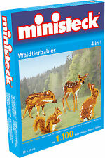 Ministeck Pixel Puzzle (31329): Wild Pets (4in1) 1100 pieces