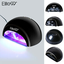 Elite99 LED Lamp Nail Dryer Cures Gel Polish Manicure Pedicure Tool with Timers