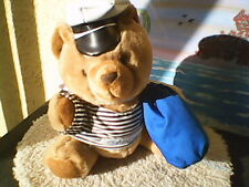 Statendam Shops on Board cruiseshipSailor Teddy Bear Adorable with Cap and Bag!