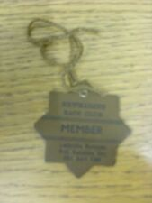 16/04/1986 Horse Racing Admission Badge: Newmarket Races - Member. Thank you for