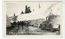 25ft SNOW AT MOUNT BAKER: Washington USA postcard (C16049)