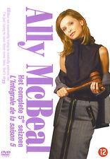 Ally McBeal : 5° seizoen / saison 5 complète (6 DVD)