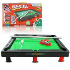 Kids Mini Pool Table Game Toys Tabletop Snooker Billiards Plaything Xams Gifts#L