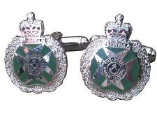 Royal green jackets RGJ Regiment Military Cufflinks