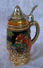 Wind Up Music Box - Music Beer Stein - German Couple (+ video)