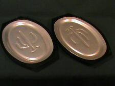 Set of 2 Serv-A-Sizzler Steak Fajita Plates by Nordic Ware with Cactus Design