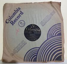 78T MALLOIRE Gramophone OUBLIE - TANGO DES FAUVETTES Chanté COLUMBIA 283 RARE