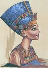 Nerfertiti Egyptian Queen - Tapestry Canvas 35cm x 45cm Collection D Art