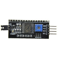 IIC/I2C/TWI/SP​​I Serial Board Module Port For Arduino 1602 LCD 2004 LCD Display