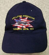 Embroidered Baseball Cap Military Airplane Hellfire Predator Drone NEW adjustabl