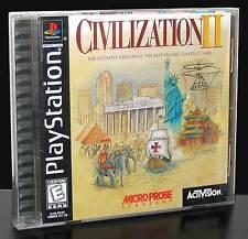 CIVILIZATION II 2 GIOCO USATO COME NUOVO PRIMA STAMPA PER PSX ED AMERICANA 29042