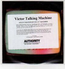 (DN178) Victor Talking Machine, Had Enough EP - DJ CD