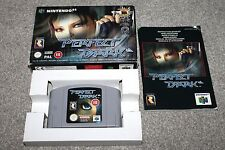 Nintendo 64 - Perfect Dark - N64 - Complete - Boxed + Instructions - PAL - VGC