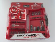 Milwaukee 48324001 Shockwave Impact Duty Driver Bit Set New