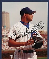 Turk Wendell signed Chicago Cubs color 8 x 10 photo