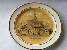 Taylor Smith Taylor First Christian Church Plate-Shelbyville In. 1958-FotoWare