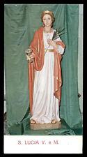 santino-holy card*S. LUCIA V.M.-ALTAMURA
