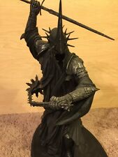 SALE! The Morgul Lord (Witch-King) sideshow weta lotr  LOW Edition:  #123/9500