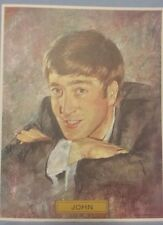 Vintage John Lennon Color Portrait Prints Copy/Original Oil Painting Leo Jansen