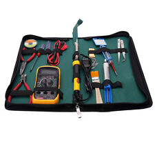 17in1 110V 60W Mutifunction Soldering Iron Maintenance Tools Kit w/ Multimeter