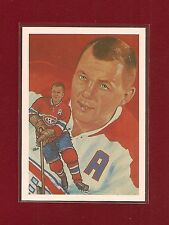 1983 Hall of Fame Cartophilium #219 Doug Harvey Montreal Canadiens