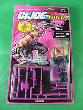 6875  GI Joe Ninja Force - Banzai  Action Figure  MOSC NOS 1992