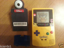 Nintendo Game Boy Color Pokemon Edition Bundle w/ Game, Case and Camera SAVES!