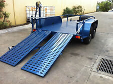 PLANT Trailer 10X5FT 3500 KG ATM Bobcat Excavator scissor lift JLG SNORKEL