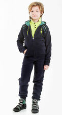 % SALE% BIKKEMBERGS KIDS sport tuta tuta da jogging * 2 * parti in Navy Blue tg. 8/128