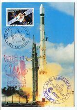 1985 Ariane 3 Vol 13 Base Lancement Kourou Arianespace ESA CSC Guvanais SPACE