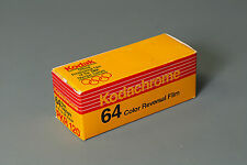Kodachrome 64 film, 120 format, expired 3/1989 from my studio freezer