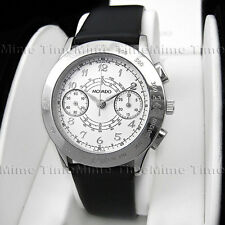 Men's Movado 1881 SUISSE MUSEUM Automatic Chronograph Leather Swiss Watch RARE!