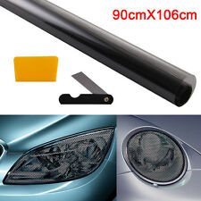90CM x 106CM Headlight Tint Perforated Film Dots Like Fly Eye Vision Legal Tint