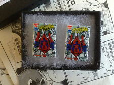 Spiderman Comic Book Cover Earrings - Studs Superhero Pow Amazing Hero Spidey
